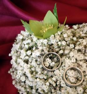 Възглавничка за пръстени