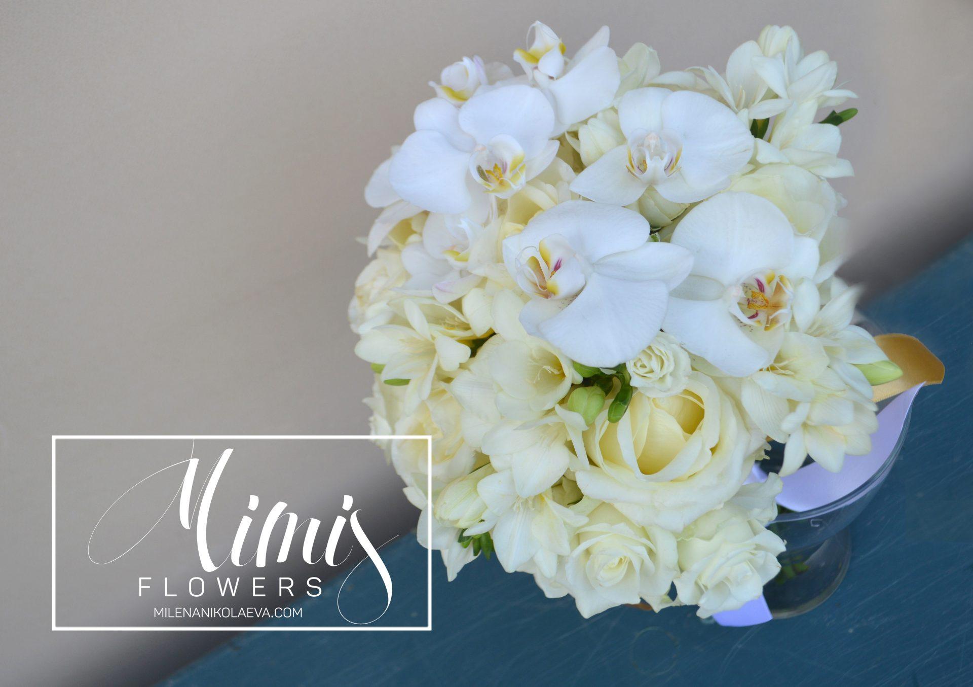 Царска сватба със злато и орхидеи
